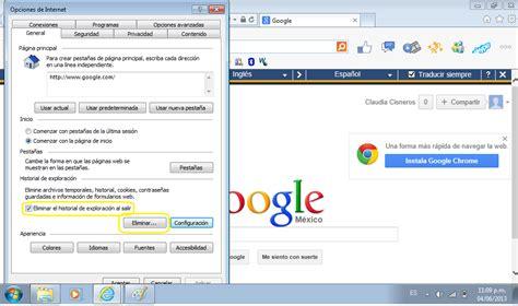como eliminar imagenes temporales de internet tutoriales de soporte ver y eliminar archivos temporales