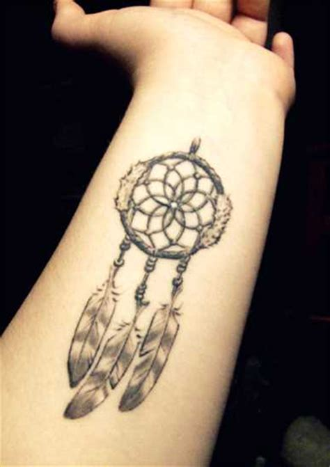 small dreamcatcher tattoo on wrist catcher tattoos best in 2017