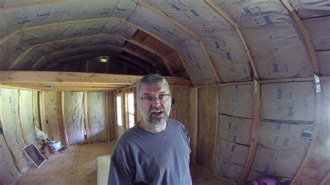diy tiny house converting  storage shed   tiny home