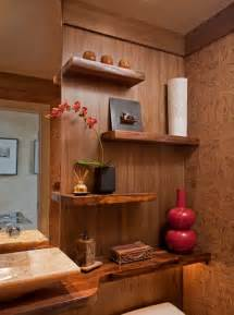 Half Bathroom Design Ideas by Zen Spa Powder Room Remodel Media Pa Contemporary