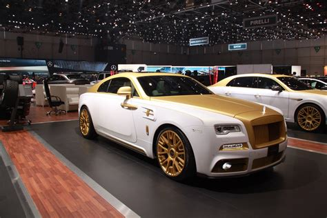 roll royce modified geneve motor 2016 mansory rolls royce wraith palm