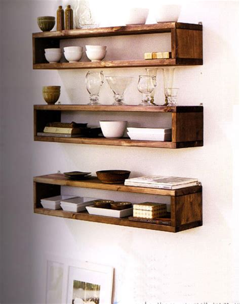 diy kitchen shelving ideas home dzine home diy easy shelf ideas that you can diy