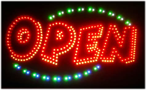 Led Sign Open open led sign bright open sign veryb