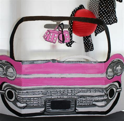 Props Decoration by Decorations How To Make 50s Pink Cadillac Photo Prop