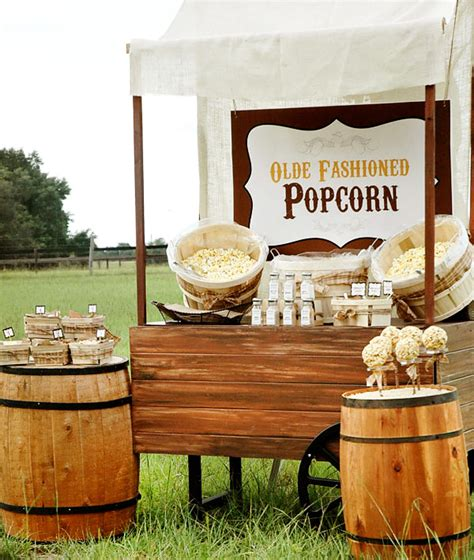 pop a top bar olde fashioned rustic popcorn bar hostess with the mostess 174
