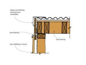 Modifying House Plans remediation details eaves branz weathertight