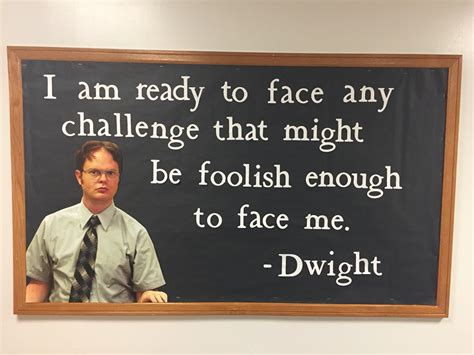 the office quotes the office dwight quote ra bulletin board idea ra ideas