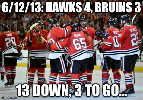 Chicago Blackhawks Memes - meme blackhawks 4 bruins 3