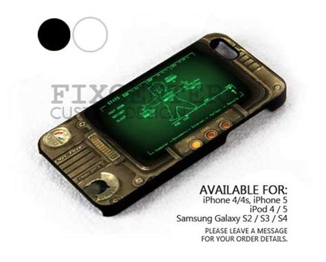 Fallout Pipboy 3000 Special A1317 Iphone 4 4s 5 5s 6 6s 6 P fallout 3 iphone 5 wallpaper wallpapersafari