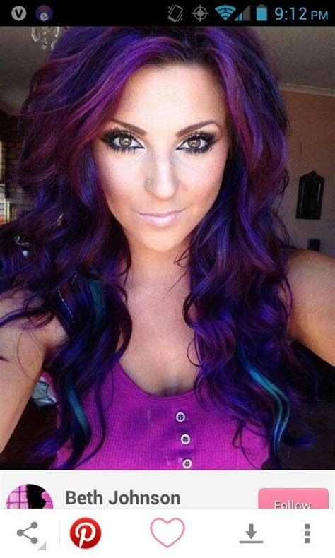 how to dye the top half of your hair if i dye my hair purple i also want it jet black but