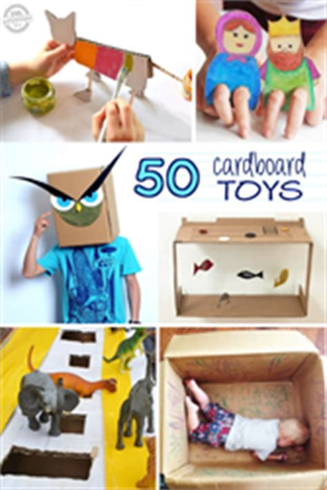 amazing cardboard box crafts   released  kids