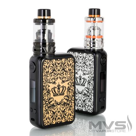 uwell crown 4 mod with crown 4 sub ohm tank starter kit