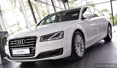 Audi A8l Price In Malaysia Audi A8 L 3 0 Tfsi Facelift Now On Sale At Rm689 500 Image