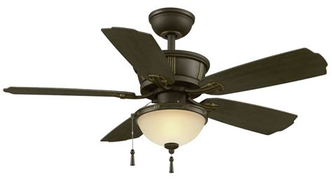 46 inch ceiling fan hton bay umber 46 inch outdoor ceiling fan with