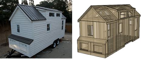 dan louche tiny house book builds tiny house for his
