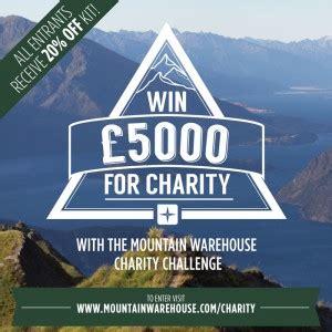 mountain warehouse charity challenge 163 5000 mountain warehouse charity challenge mountain