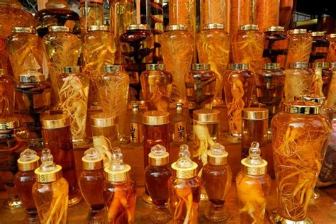Korean Ginseng Wine shopping and what to buy in seoul