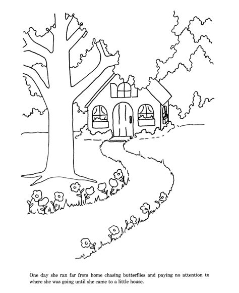 printable coloring pages goldilocks three bears goldilocks and the three bears coloring pages az