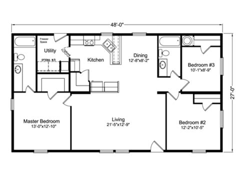 floor plan standards the factory select 4g28483x manufactured home floor plan