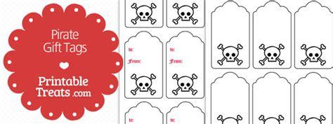 printable pirate name tags pirate gift tags printable printable treats com