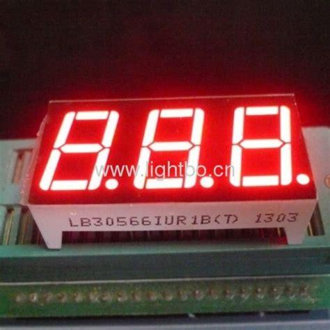 Seven Segment 7 Segment 0 56 0 56 Inchi 0 56 Inchi Common Anoda 3 digit 0 56 quot led display 3 digits 14 2mm 7 segment display from china manufacturer shenzhen