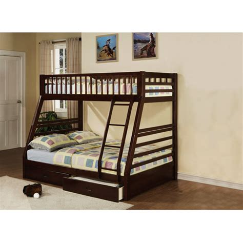 Loft Bed Walmart by Acme Furniture Jason Bunk Bed Espresso