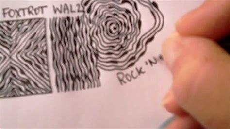 zentangle pattern diva dance how to draw tanglepattern diva dance foxtrot walz rock