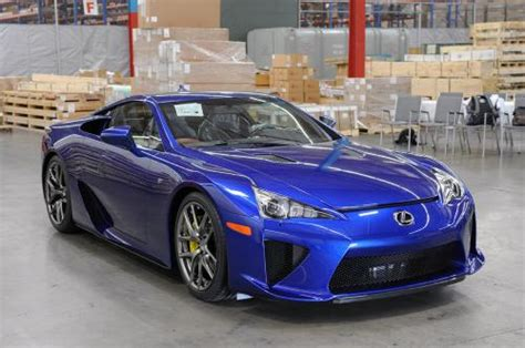 lexus lfa blue photo image gallery touchup paint lexus lfa in pearl
