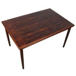 Rosewood Dining Tables Mid Century Modern Rectangular Rosewood Dining Table At 1stdibs