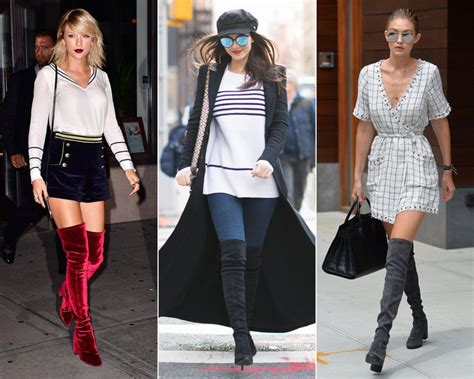 taylor swift red velvet thigh high boots newhairstylesformen2014 com where to buy the over the knee boots that celebrities love