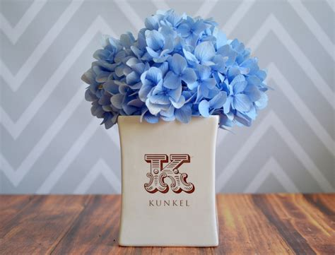 Wedding Gift Vase by Personalized Vase Housewarming Gift Wedding Gift Or Client
