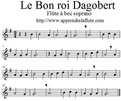 0043061060 la flute de a a le bon roi dagobert 224 la fl 251 te 224 bec apprendre la fl 251 te