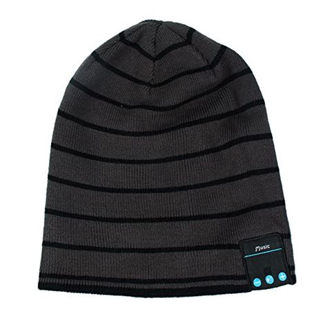 free for android phones bluetooth beanie hat rotibox winter outdoor sport premium knit cap with wireless stereo