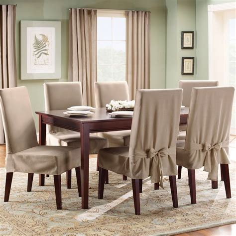 dining chair slipcovers casual cottage best 25 dining room chair covers ideas on pinterest