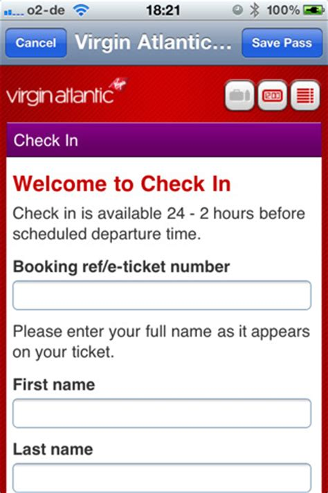 boarding pass flight check in app for ipad iphone