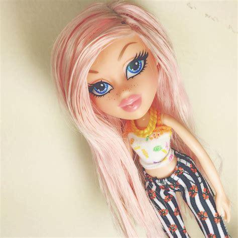 bratz doll pink hair baby girl what s your name bratzcloe bratz cloe