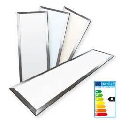 led einbau deckenleuchten ledvero 120x30 ultraslim led panel 36w paneel