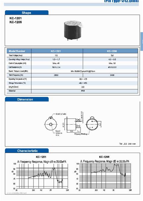 Hxd buzzer datasheet pdf download