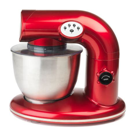 red small kitchen appliances salter 1000w stand mixer metallic red small kitchen