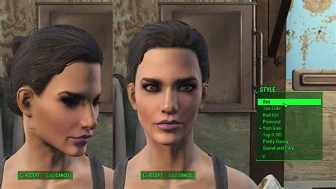 hair and face models fallout 4 kat s new hairstyles mod mod download