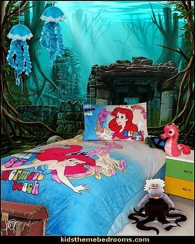 Little Mermaid Bedroom Decor Decorating Theme Bedrooms Maries Manor Ariel