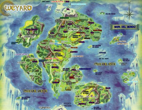 Mapa De Weyard By Giniroryu On Deviantart Map Of The World Colouring Page