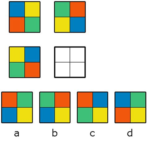 pattern recognition test exle my iq test question 14