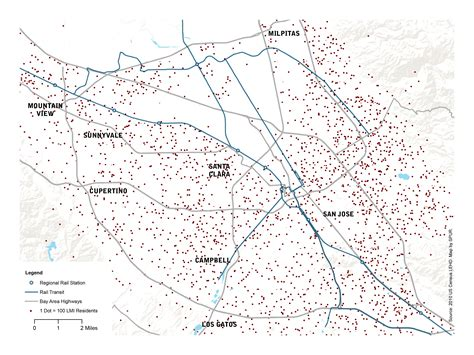 san jose income map how do we rebuild the bay area s middle class spur