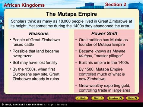world history chapter 18 section 2 world history ch 10 section 2 notes