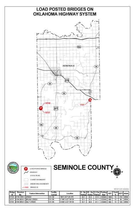 Records Seminole County Seminole County Oklahoma Map Wisconsin Map