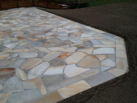terrasse quartzite terrasse en pierres naturelles quartzites et escalier