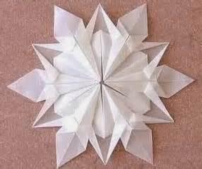 Snow Origami - snow flake origami origami photos
