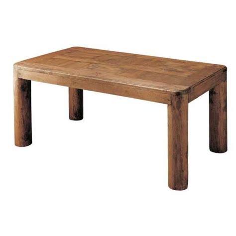 mesa de comedor madera rustica  patas de tronco le