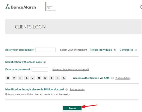 march login march banking sign in login